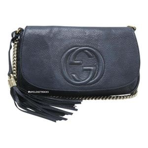 Gucci Soho Disco Black Crossbody Bag